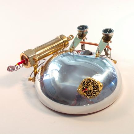 MetalMaus Custom Wireless Computer Mouse Sculpture by Aaron Ristau