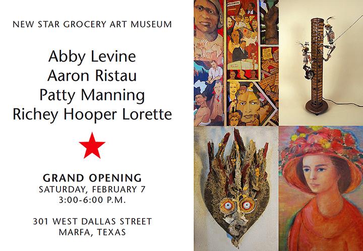 Marfa New Star Grocery Art Museum Lorette